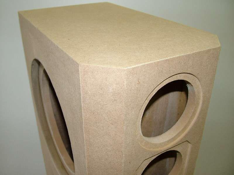 visaton vox 253 mti lautsprecher geh use bausatz c. Black Bedroom Furniture Sets. Home Design Ideas